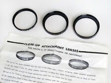 Nikon Close-Up Attachment Lenses Complete Set