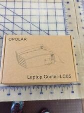 Opolar LC05 Laptop Cooler with Vacuum Fan (Rapid Cooling Auto-Temp Detection ...