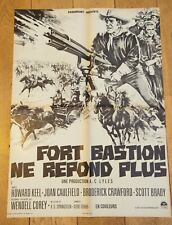 FORT BASTION NE RÉPOND PLUS Affiche cinéma 60x80 SPRINGSTEEN, HOWARD KEEL