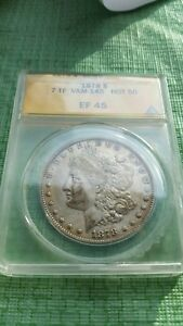 1878 7TF $1 VAM 145 Broken N&M Morgan Silver Dollar  #O291B