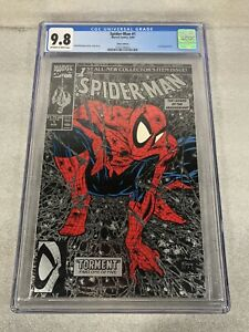 Spiderman #1 Todd McFarlane SIlver Edition CGC 9.8