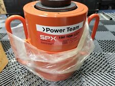 Aj970 Spx Power Team Rh1505 150 Ton 5 Stroke Double Acting Hydraulic Cylinder