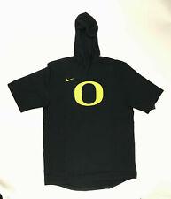 Nike Men's Player Short Sleeve Hoodie Top Oregon Ducks Aj6714 Large Fc296