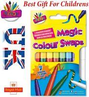 Artbox Magic Colour Swap Fibre Pen (pack Of 8) - Pens Assorted Colours Felt Tips