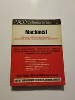 Vtg Arco Civil Service Test Tutor Study Guide, Machinist Collectible