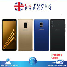 Samsung Galaxy A8 2018 32GB/4GB Sbloccato Smartphone NFC A530F-Nero, Blu, Oro