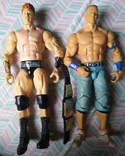 WWE Mattel Elite John Cena & Sheamus Figures NXT AEW Wrestling LOTS OF PLAY WEAR