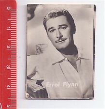 ERROL FLYNN 50/60s Dolcificio Lombardo italy photo card - figurina fotografia