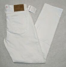 NWT GUESS Jeans Brit Rocker Slim Tapered White Wash Men's Jeans size 30x30 NEW