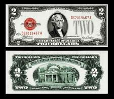 1928-F $2  Red Seal United States Note~~  UNCIRCULATED