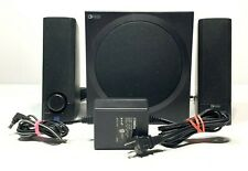 Yamaha YST - MS201 Powered Multimedia Speakers,Black, w/ Adapter