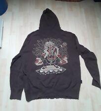 MARC ECKO Pullover Pulli Sweatshirt Sweater Kapuze braun XL