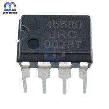 10Pcs JRC4558D JRC 4558D DIP8 OPAMP OP AMPS CHIP IC Good Quality