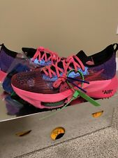 Off-White x Nike Air Zoom Tempo Next% 'Pink Glow' U.S 8.5. DS (never worn)