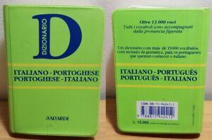 DIZIONARIO Mini Tascabile ITALIANO - PORTOGHESE aVallardi - Ed. Garzanti 1993