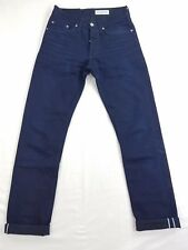 Gustin Slim Raw Selvedge #89 Mens Denim Jeans Pants Size tag 29 actual 27