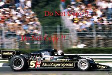 Mario Andretti JPS Lotus 78 Winner Italian Grand Prix 1977 Photograph 3