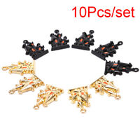 10x/Set Enamel Alloy House Charms Pendant Jewelry DIY Making Craft Findings ux