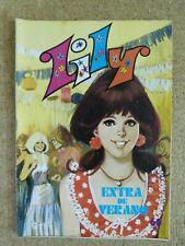 Lily.Extra de Verano. Editorial Bruguera.1978