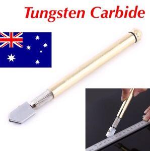 Glass Cutter Tungsten Carbide 3-12mm Cutting Wheel Blade Oil Feed Tool Glazing