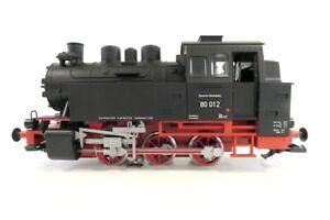 (UW61) Piko 37125 Spur G Dampflok BR 80 012 DR, Rauch, Sound EVP