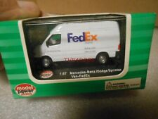 Model Power Fedex Sprinter Delivery Van in Box 1/87 HO Scale