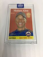 Moises Alou 2020 Topps Archives Signature 2007 Heritage #272 Auto #08/34 Mets