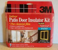 3M Patio Door Insulator Kit by Scotch #2144 Insulates Patio Door 6.5 ft x 9 ft