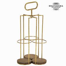 Botellero para 3 botellas - Colección Art & metal by Bravissima Kitchen