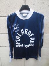 Maillot A.S.U L'UNION porté n°11 MALARDEAU Toulouse vintage shirt trikot XS