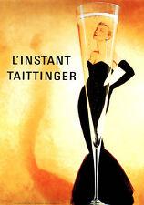 L'Instant Taittinger A1+ High Quality Canvas Print