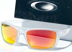 NEW* Oakley DROP POINT Mat CLEAR POLARIZED Galaxy RUBY Sunglass 9367