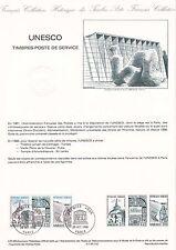 Document Philatélique Timbre 1er Jour : 26/10/ 1985 - Unesco