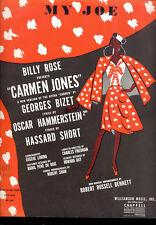 """CARMEN JONES Broadway Show """"My Joe"""" 1943"""