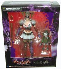 Play Arts HARLEY QUINN Arkham Asylum figure~Kai~Dark Knight~Batman~Square Enix~N