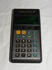 Calculadora canon palmtronic f-6 F - 6 Calculator rareza (205)