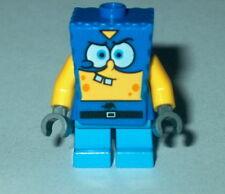 "SPONGEBOB #20A Lego Spongebob ""SUPER HERO"" (custom As Shown Read) NEW 3815"