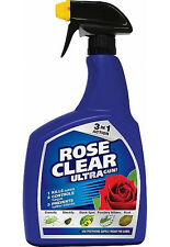 ROSE CLEAR ULTRA Ready To Use Gun 1 Litre Controls Greenfly Midlew Black Spot