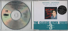 MICHAEL JACKSON ~ THEY DON'T CARE ABOUT US ~ CLASSIC REMIX SERIES RARE CD SINGLE