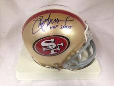 Steve Young San Francisco 49ers NFL Autographed Signed HOF Inscription Helmet