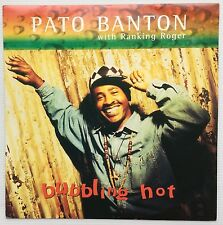 "Pato Banton Bubbling Hot UK 12"" single +Picture Sleeve"