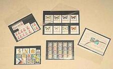 100 x A5-Einsteckkarten Steckkarten mit Schutzfolie NEU