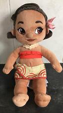 Moana Plush Disney Store Animators, Baby Toddler, soft stuffed, Vaiana