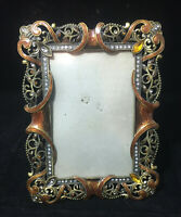 Vintage Decorative Metal Picture Frame