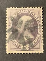 US # 151 USED 12 cent Henry Clay Issue - Great Centering CV $200. (E22).