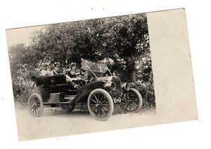 c.1922 Antique Real Photo Postcard Automobile, Car, RPPC