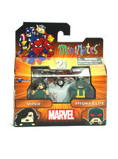 Marvel Minimates Viper & Hydra Elite Series Wave 54 Figures Brand New In Box