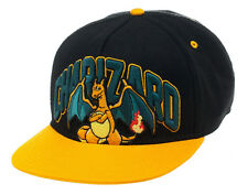 OFFICIAL POKEMON MOODY CHARIZARD ORANGE & BLACK SNAPBACK CAP *BRAND NEW*