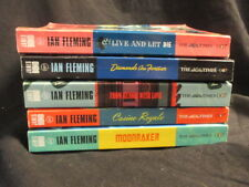 JAMES BOND THE TIMES 007 PAPERBACK EDITIONS 5 TITLES