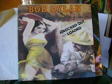 MINT- PROMO LP~BOB DYLAN~KNOCKED OUT LOADED~W INNER & Gold PROMO STAMP